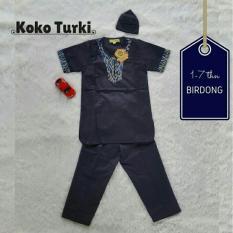 Set Koko Turki Biru Dongker