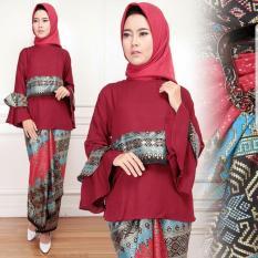 Set Vinoti Wanita , Baju Batik Wanita