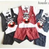 Jual Setelan Anak Cowok Rompi Karakter Baju Anak Laki Laki Murah Stelan Formal Dasi Pakaian Pesta Bayi