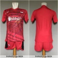Setelan Badminton / Bulutangkis Yonex Y31 (Baju Kaos Jersey Celana)