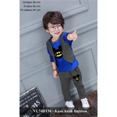 Dapatkan Segera Setelan Baju Anak Murah Pusat Baju Anak Vl74Btm Kaos Anak Batman