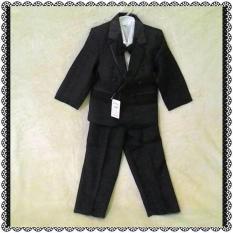 Setelan Baju Jas Tuxedo Blazer Anak Laki Usia 7 8 9 10 Tahun - 04Ax8y