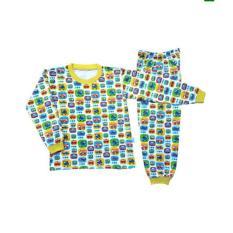 Setelan Baju Tidur Piyama Anak Laki-Laki Lengan Panjang PA001-2