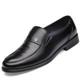 Setelan Bisnis Hitam Tali Sepatu Tali Sepatu Tidak Sepatu Pria 3056 Mulia Hitam Oem Murah Di Tiongkok