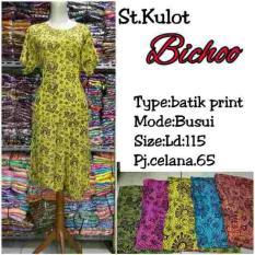 Setelan Celana Kulot Batik Baju Tidur Piyama Busui Hamik Jumbo Bali
