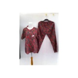 Harga Setelan Celana Panjang Batik Kencana Ungu Baju Tidur Batik Online