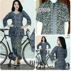 Setelan Couple Baju Batik / Kebaya Modern brukat renda furing terbaru higt quality  kebaya lebaran / batik lebaran /kebaya kartini