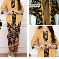 Setelan Couple Baju Batik / Kebaya Modern kutu baru terbaru higt quality