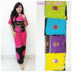 Setelan Daster Celana Kulot Batik Baju Tidur Busui Hamil Bali Solo