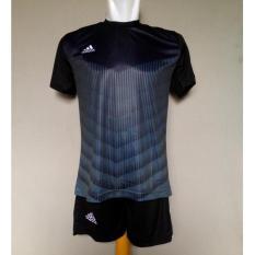 Beli Setelan Futsal Baju Celana Jersey Futsal Ad06 Carcoal Murah