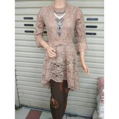 setelan kebaya brokat modern -kutu baru pakaian tradisional baju-baju wanita batik