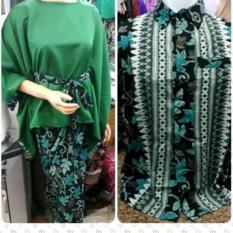 Setelan pakaian baju Kebaya COUPLE modern model KALONG keluaran terbaru