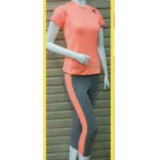 Setelan Pakaian Baju Sport Olahraga Wanita Zumba/Leging/Aerobik/Yoga Murah