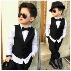 Setelan Vest Anak / Jas Tuxedo Anak Laki 8 Tahun - J0ykay