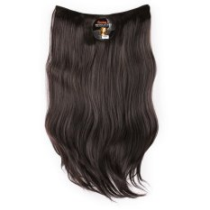 Seven 7 Revolution Hair Clip Lurus Straight Black  Big Layer 60 cm - Hitam Black / Hairclip Korea