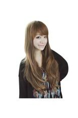 Beli Perempuan Seksi Ladies Keriting Rambut Palsu Wig Cosplay Dengan Kostum Seniman Linen Kredit Tiongkok