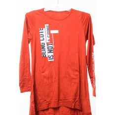Promo Seyes Atasan Kaos T Shirt Lengan Panjang Wanita Dewasa 4684 Rayon Spandex Akhir Tahun