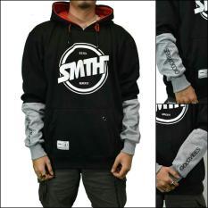 Sfo jaket sweater SMTH premium Hitam