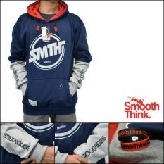 Diskon Besarsfo Jaket Sweater Smth Premium Navy
