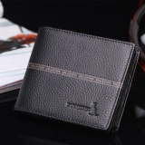 Ulasan Tentang Sgkangaroo Men S Genuine Cowhide Leather Bifold Wallet Casual Money Purse Horizontal Coin Pocket Coffee Intl