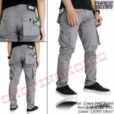 SH Celana pria cargo panjang / PDL / celana gunung