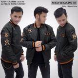 Promo Sh Jaket Pria Bomber Xua Keren Hitam Jawa Barat