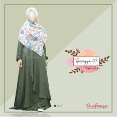 SHAFEEYA-TSURAYYA DRESS 03-GAMIS ROYAL CREPE