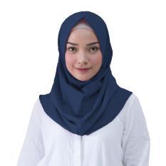 Shalwa Hijab Kerudung Instan - [Warna Biru Dongker]