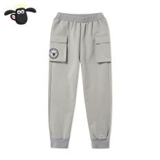 Shaun The Sheep Anak Laki-laki Kasual Celana Panjang Busana Anak-anak Celana (