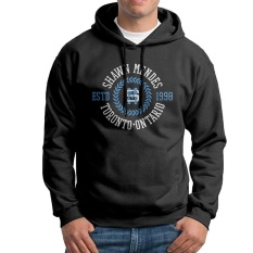 Shawn Mendes Toronto Ontario Tali Serut Pria Hoodie Hitam-Internasional