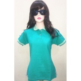 Ulasan S Hie Cotton Polo Shirt Warna Hijau Tosca