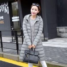 Beli Korea Fashion Style Perempuan Baru Perempuan Baju Katun Wanita Jaket Katun Abu Abu Oem Asli