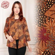 Harga Shining Collection Atasan Blouse Batik Isyana Abaya Kemeja Wanita Merah