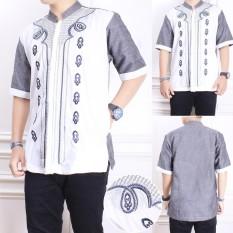 Spesifikasi Shining Collection Baju Koko Randy Kemeja Muslim Lengan Pendek Pria Terbaik
