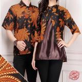 Jual Shining Collection Couple Batik Leora Atasan Abaya Dan Kemeja Pria Satu Set