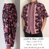 Shining Collection Couple Batik Syara Rok Lilit Dan Kemeja Pria Diskon Banten