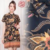 Toko Shining Collection Midi Dress Batik Hiein Short Dress Wanita Termurah