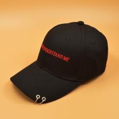 Topi Baseball Imut Sama Model Dengan Artis (Hoop telapak tangan hitam) ba56831540