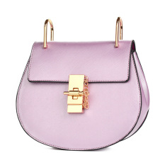 Artis Rantai Perhiasan Kecil Tas Model Sama Tas Wanita (Hepburn pink dan ungu)