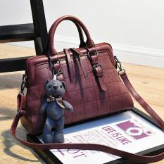 Tas Model Kerang Selempang Wanita Sederhana Karet Hong Penampang Untuk Mengirim Cubs Karet Hong Penampang Untuk Mengirim Cubs Terbaru