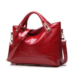Diskon Shishang Tas Baru Korea Fashion Style Tas Besar Tas Wanita Anggur Merah Oem Di Tiongkok
