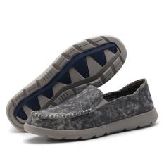 Promo Sepatu Ukuran Besar Lazy Sepatu Pria Sailboat Sepatu Sepatu Santai Bernapas Kanvas Sepatu Nyaman Mengemudi Peas Sepatu Intl Akhir Tahun