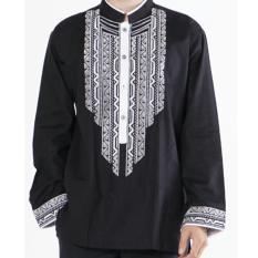 Beli Shohib Baju Koko Katun Premium Tangan Panjang Irfan 02 Cicilan