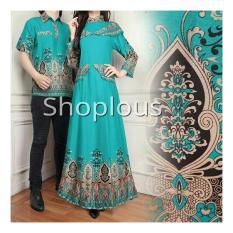 Shoplos Baju coupel ZZ/ Baju Coupel Caca / Baju Pesta / Baju Pasangan batik / Batik Coupel / Gamis Coupel/ Baju Family / Baju Ayah Bunda/Baju coupel/Baju Batik Coupel / Baju Batik/Gamis Coupel