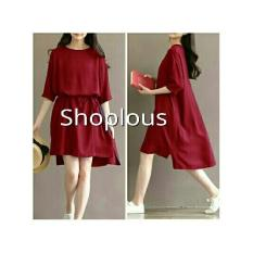 Shoplous Dress Wanita / Dress Casual / Dress formal / Dress Lea / Dress Modis / Dress Unik