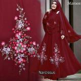 Harga Shoplous Fashion Muslim Gamis Muslim Gamis Wanita Fashion Muslim Gamis Murah Narcisus Syar I Narcisus Syari Jilbab Dress Muslim Shoplous Baru