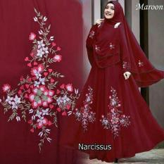 Ulasan Shoplous Fashion Muslim Gamis Muslim Gamis Wanita Fashion Muslim Gamis Murah Narcisus Syar I Narcisus Syari Jilbab Dress Muslim