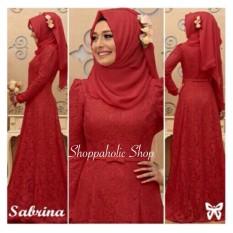 Toko Shoppaholic Shop Baju Muslim Dress Gamis Sabrina Maroon Dress Muslimah Hijab Muslim Gamis Syari Baju Muslim Fashion Muslim Fashion Maxi Setelan Muslim Atasan Muslimah Baju Gamis Di Jawa Barat