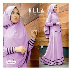 Shoppaholic Shop Baju Gamis Baju Muslim Syari Najwa - Lavender / Dress Muslimah / Hijab Muslim / Gamis Syari / Baju Muslim / Fashion Muslim / Dress Muslim / Fashion Maxi / Setelan Muslim / Atasan Muslimah
