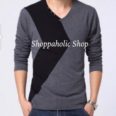 Shoppaholic Shop Baju Pria Marvel - Abu / Baju Pria / Kemeja Pria / Baju Santai Pria / Baju Muslim Pria / Kemeja Formal / Atasan Pria